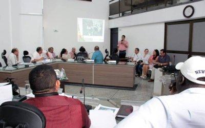 Ponencia positiva dio el concejal Cesar Latorre al proyecto de vigencias futuras