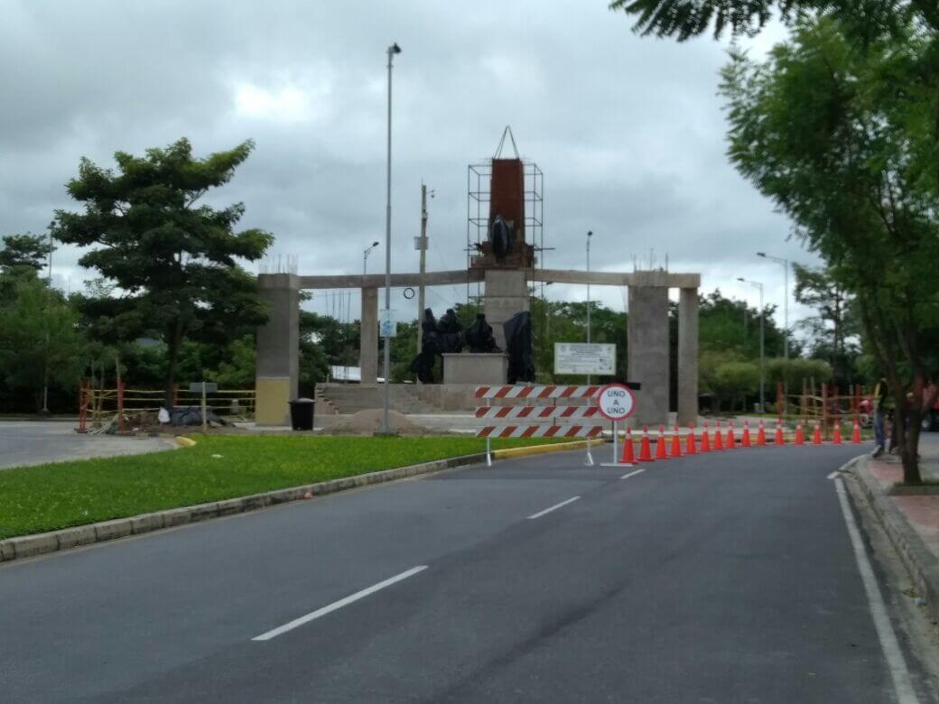 Vuelve y juega, hasta finales de octubre será terminada construcción del monumento al Bicentenario