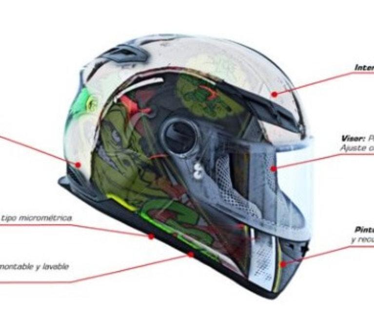 Polémica por reglamentación de casco para motos