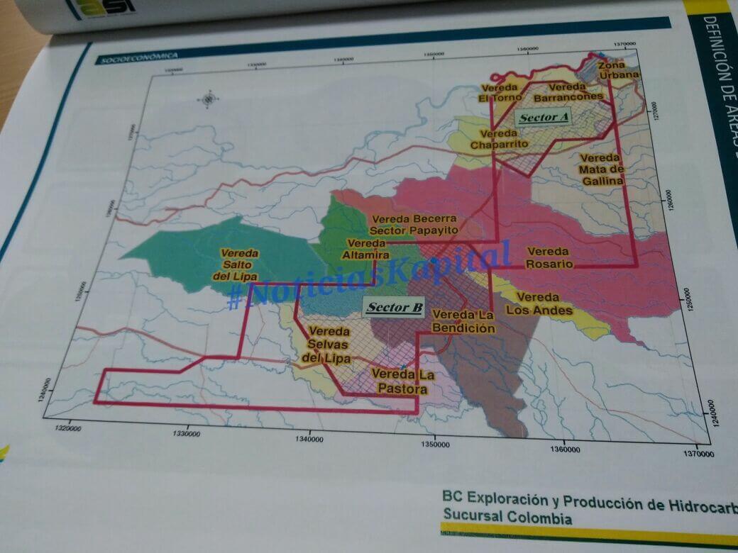 25 Veredas de Arauca han sido incluidas en los bloques de explotación petrolera Llanos 42 y 43