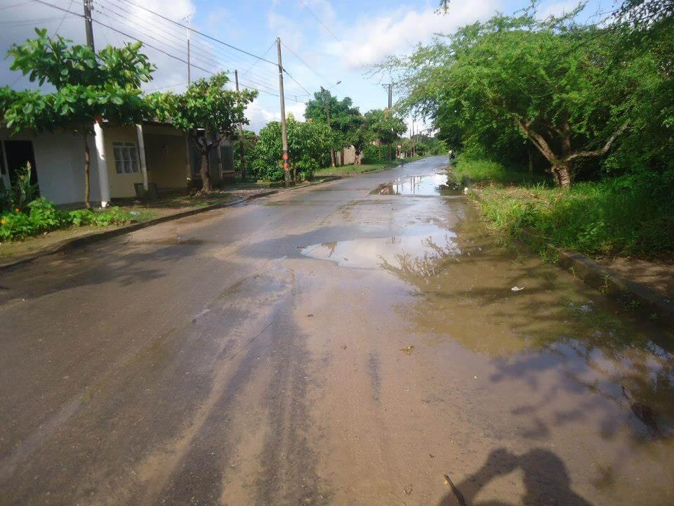 Déficit en el alumbrado público en el sector de las chorreras denuncian habitantes