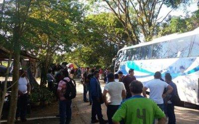 Cierre de la vía Arauca – Arauquita
