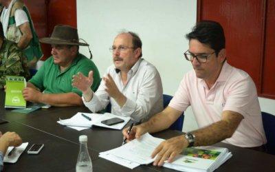 Con intervención del ministro de Agricultura conjurada protesta de ganaderos