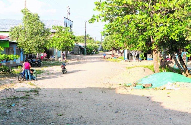 centro poblado de Panamá