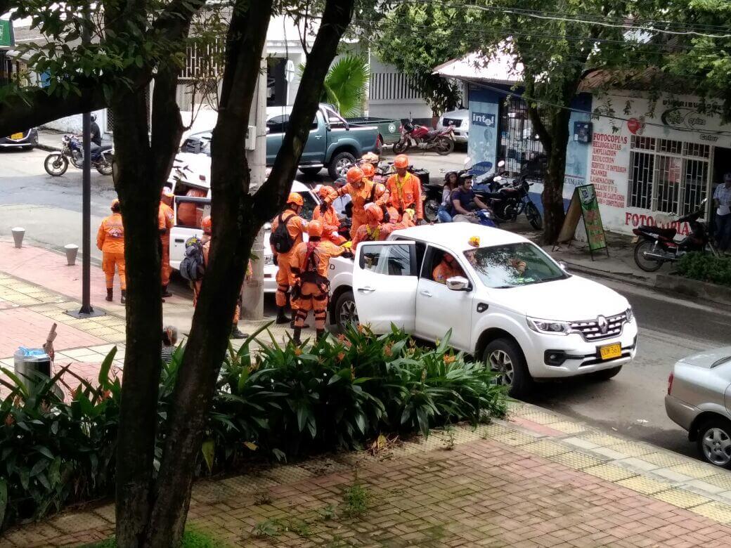 Fue oportuna la respuesta de los organismos de socorro de Arauca en el marco del simulacro nacional de rescate