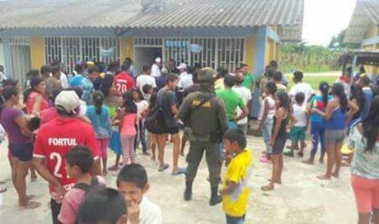 Autoridades indígenas entregaron a miembro de la comunidad señalado de acceso carnal violento en menor de 14 años