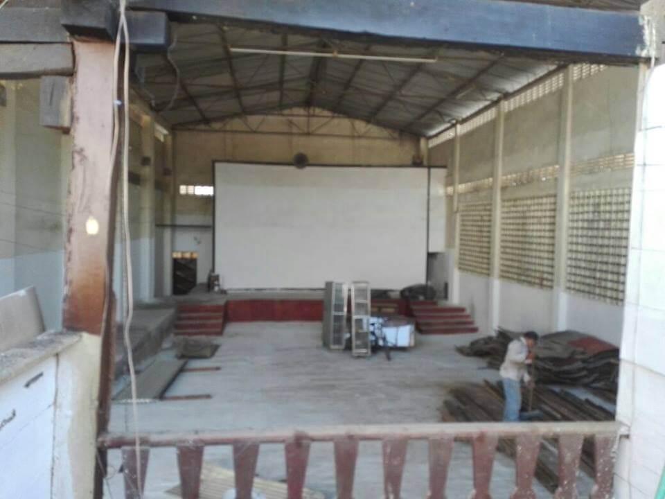 El teatro Santander hace parte de la historia de Arauca allí se proyectaban películas