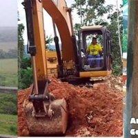 Polémica por el manejo de la maquinaria amarilla en Tame