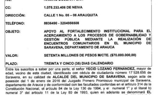Aumenta el escándalo en Saravena por millonarias inversiones en ollas comunitarias.