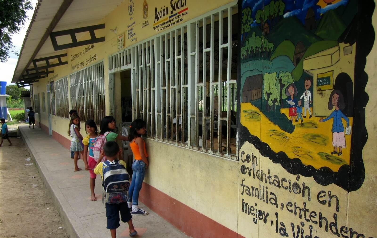Sin alimentación escolar se quedaron 1.800 estudiantes indígenas del Departamento