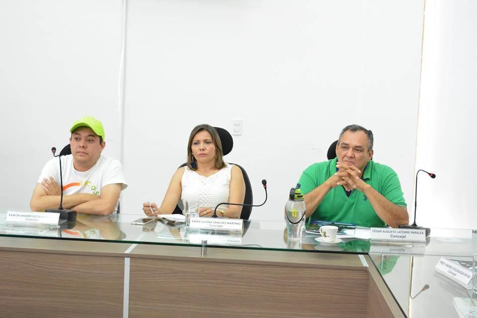 Presidenta del Concejo celebró investigaciones contra EMAAR