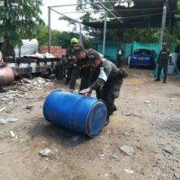 Mercancía de contrabando avaluada en 105 millones de pesos fue decomisada por la DIAN y POLFA en Arauca