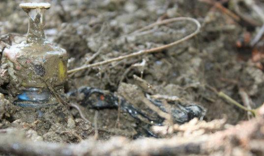 Joven de Fortul  resultó herido con mina antipersonal