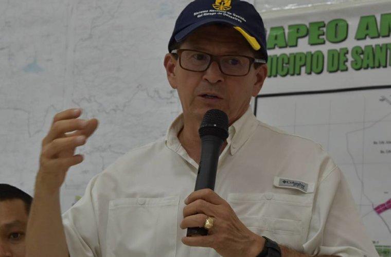 Director Nacional para la Gestión del Riesgo evaluó funcionamiento de los 45 puestos instalados para la expedición del Registro de Migrantes.