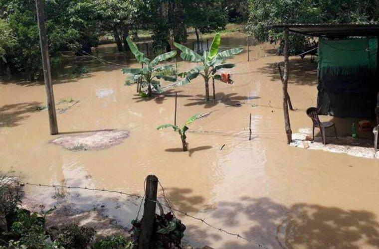 Ríos San Miguel y Calafitas causan estragos en Saravena. Más de 300 habitantes se están viendo afectados. Solicitan inversión del Estado.