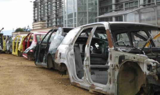 El departamento está inundado de vehículos viejos que deben salir de circulación: Director Transito