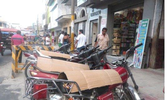 En etapa de socialización  decreto que prohíbe cuidadores de motos en la ciudad.