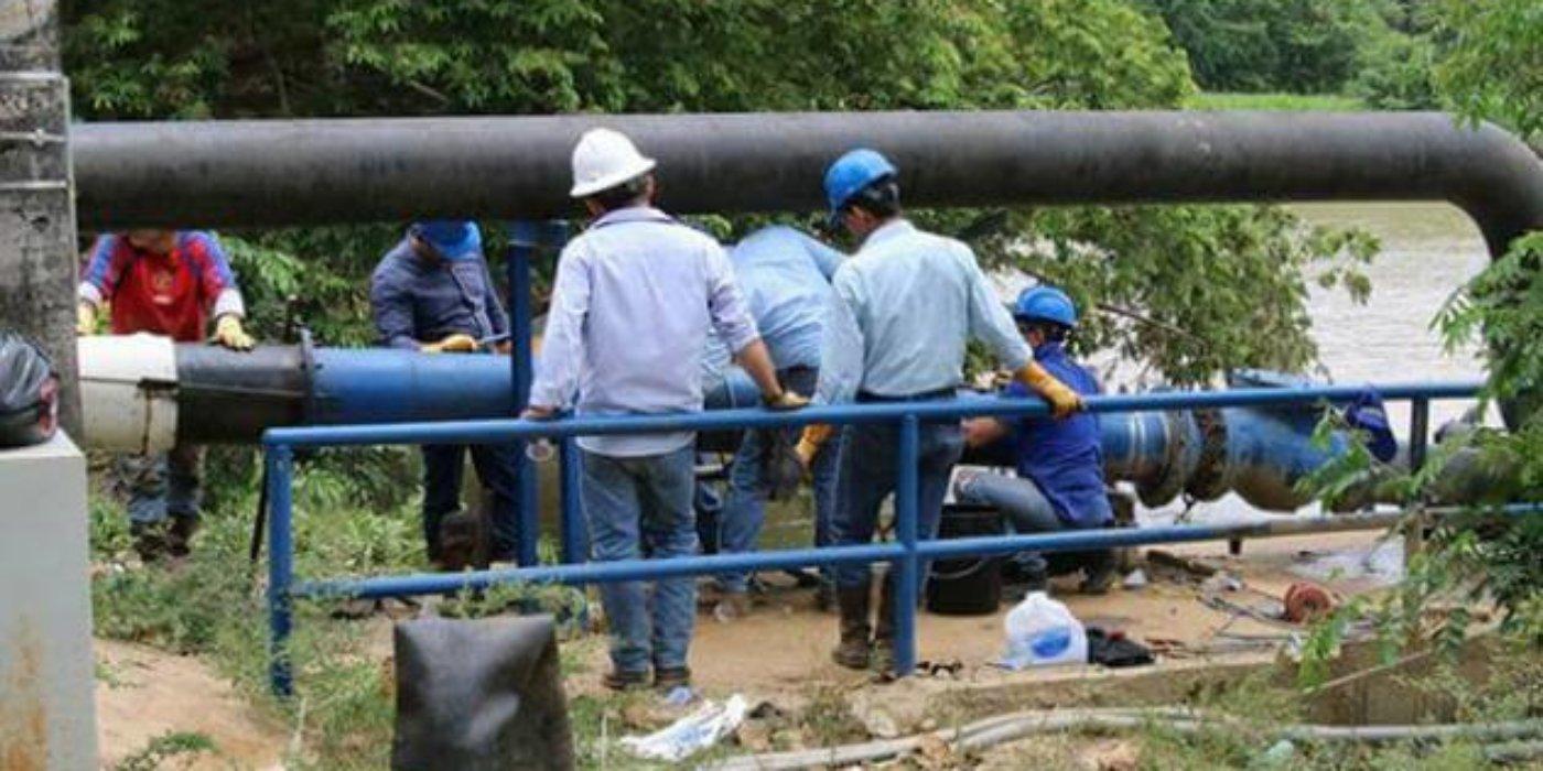 Gerente de EMSERPA, afirmó que así se vaya la luz van garantizar prestación del servicio de agua potable.