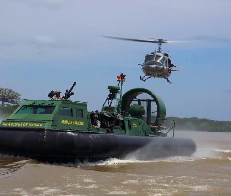 Denuncian abusos de la Armada en el río Arauca. Patrullas causan daños a pequeñas embarcaciones