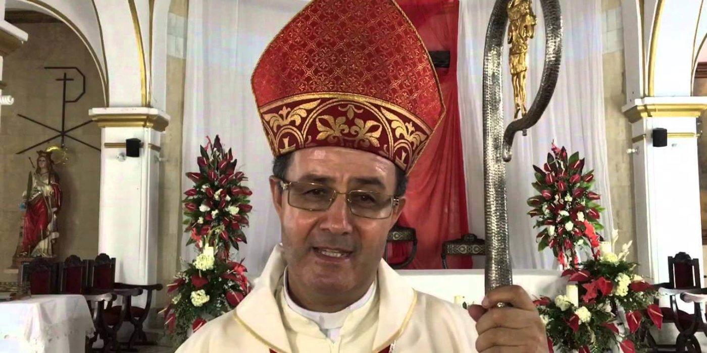 El adiós de Monseñor Jaime Muñoz Pedroza de Arauca. El 30 de agosto se ira para Girardot.