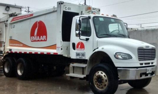 Sin mayores dificultades transcurre recolección de basura en el Municipio, dice Gerente de EMAAR.