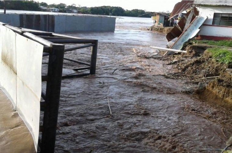 Contratista que construye defensa longitudinal del río en Arauquita, tendrá que volver a hacer los trabajos.