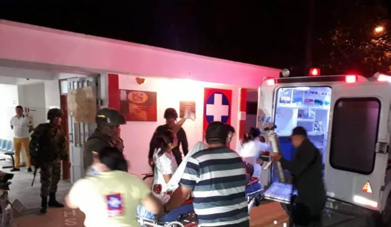 Murió uniformado del Ejército que ingreso con heridas de consideración al hospital San Vicente.