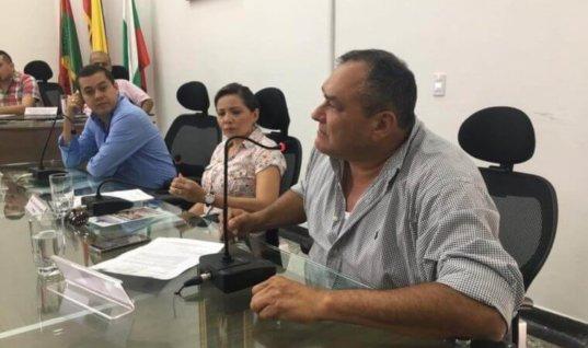 Concejal, César Latorre, nuevo presidente de la Corporación.