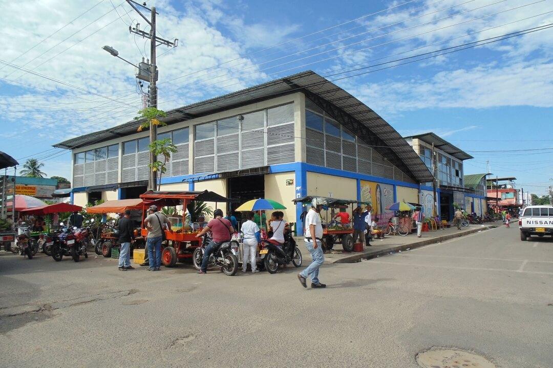 Comerciantes de la plaza de mercado proponen convertir el  establecimiento en un centro comercial. Hay 111 vendedores.