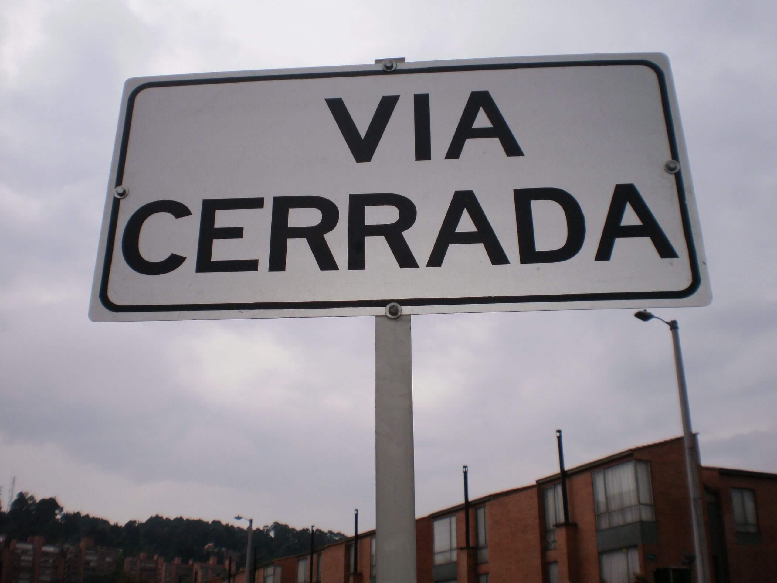 Abrir vía piden residentes de Pescadito. Luego de atentado autoridades tomaron la decisión.
