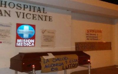 Este año si entregarían operando el primer piso de la torre del hospital San  Vicente de Arauca. Los otros niveles deben tener aval del MinSalud.