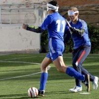 Jóvenes con discapacidad visual conforman equipo de fútbol sonoro.  Representarán a Arauca en torneo que se hará en Bucaramanga.