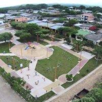 Zona rural del municipio de Tame, fue beneficiada por el programa Colombia transforma con proyectos de infraestructura y parques Biosaludables.