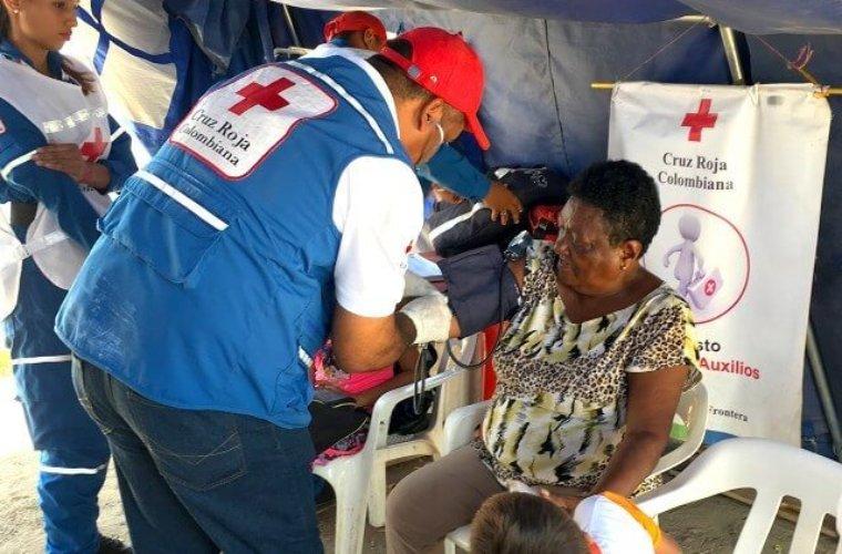 Más de 10 mil migrantes se han beneficiado con programas de la Cruz Roja en municipios como Arauca, Saravena y Tame.