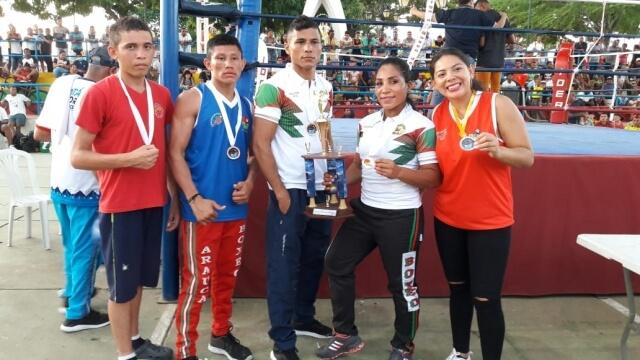Liga de boxeo de Arauca gana 5 medallas en Campeonato Nacional. Certamen fue avalado por la Federación Colombiana.