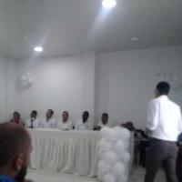 Partidos políticos firmaron pacto por la paz y la no violencia en la campaña electoral. Iniciativa es promovida por el Consejo Departamental de Paz.