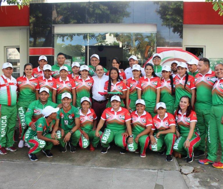 A Mocoa viajo delegación de 84 deportistas que representarán al Departamento en los juegos de la Amazonia y la Orinoquia.
