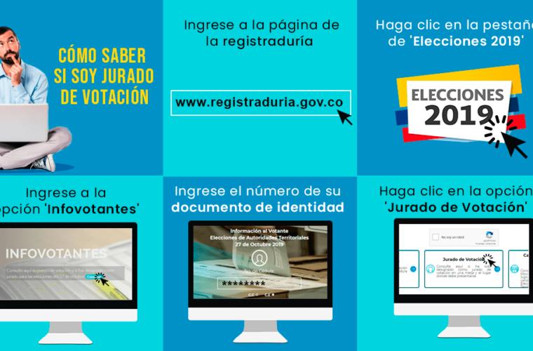 Registraduria inicio sorteo para escoger jurados de votación de elecciones regionales del 27 de octubre. Los que incumplan serán sancionados.