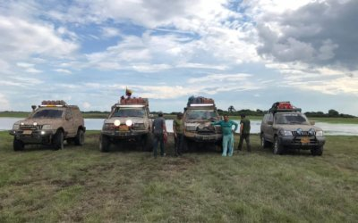 """Del 8 al 11 de Noviembre llega la cuarta versión de rally """"Aventura Santa Bárbara de Arauca"""". Vehículos fangueros recorrerán 550 kilómetros de sabana."""