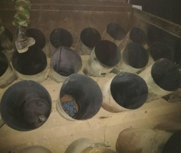 Con cilindros bomba el Eln inicia el 2020 en el Departamento de Arauca.