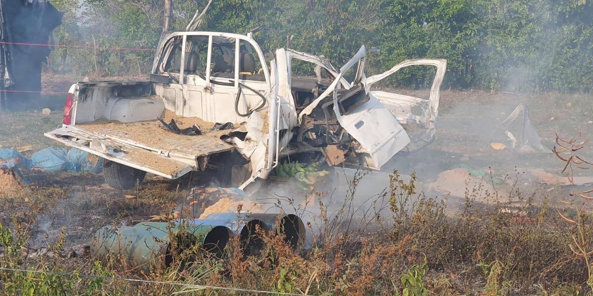 Capturado presunto responsable del vehículo que explotó en Saravena, Arauca. Desde allí iban a atentar contra el cantón militar.