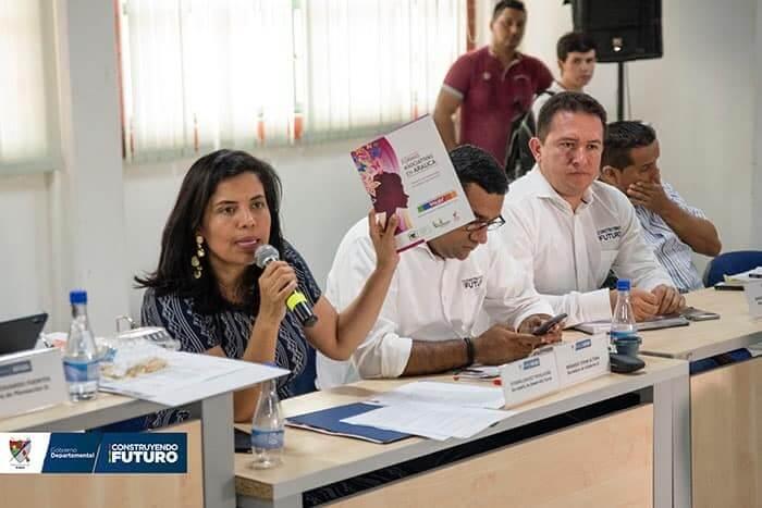 Creación de la Secretaría de la Mujer es un hecho en Arauca. El anuncio se hizo tras visita de la Consejera para la Equidad de la Mujer.