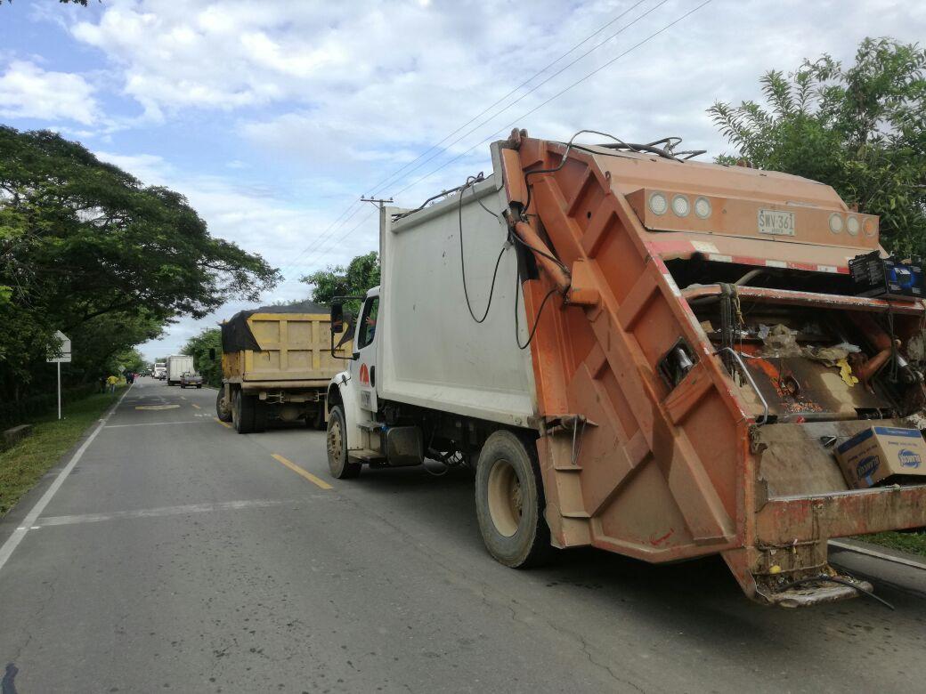 En Arauca disidentes secuestraron hasta el carro de la basura