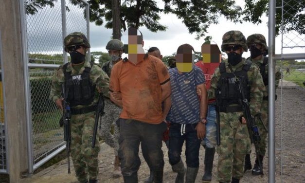 Capturan cinco presuntos integrantes del ELN en Arauquita