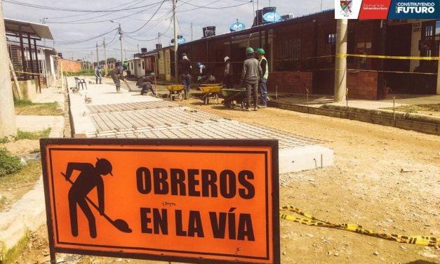 Obras de pavimentación y urbanismo del sector Playitas y 1ero de Enero están por culminarse: Secretaria de Infraestructura Física