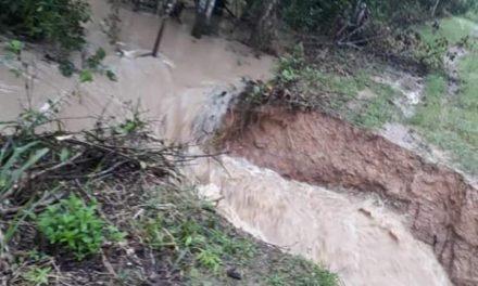 El dique en el Torno-La Payara no aguantó, comunidades piden atención inmediata