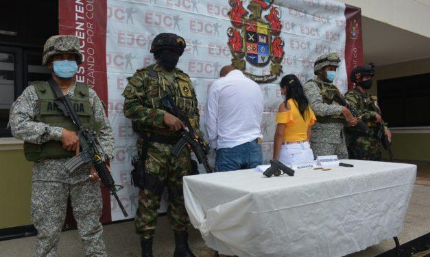 """En la esmeralda unidades del Gaula capturaron a alias """"Martín"""" o """"Mono Milton"""""""