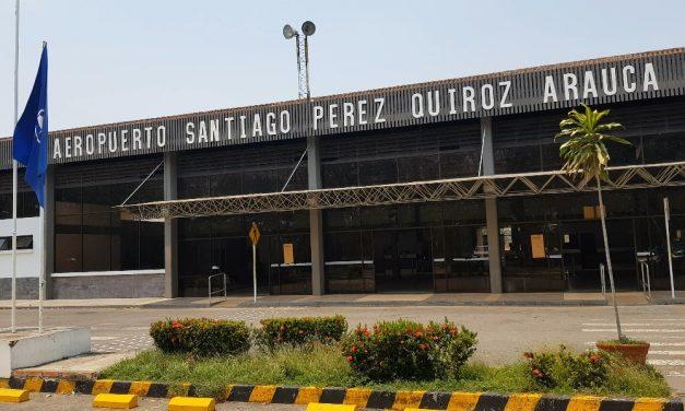 Se reanudan operaciones en el aeropuerto de Arauca Santiago Pérez Quiroz