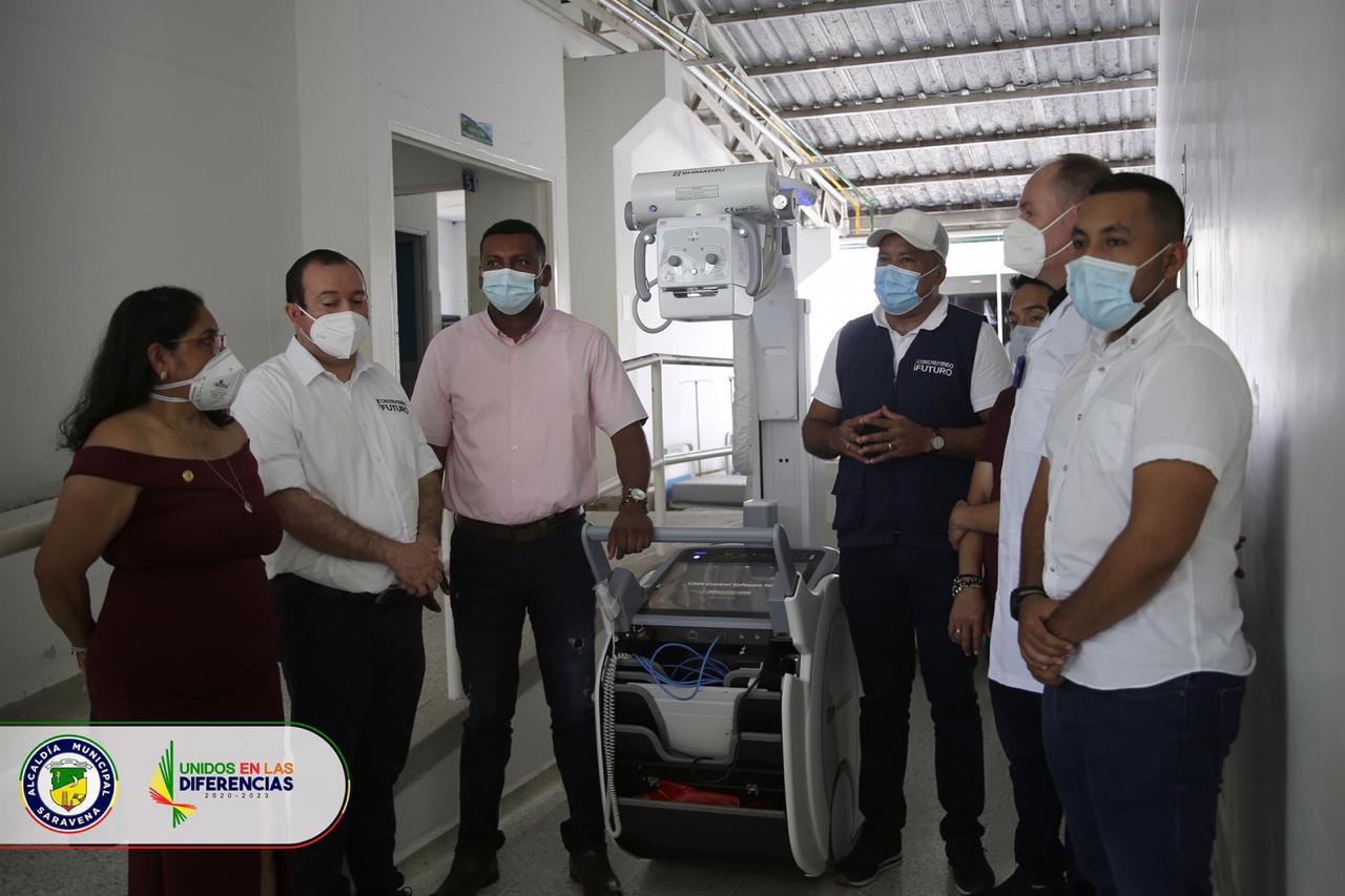 HOSPITAL DE SARARE RECIBE 20 CAMAS PARA ATENDER LA COVID-19 Y EQUIPO RAYOS X