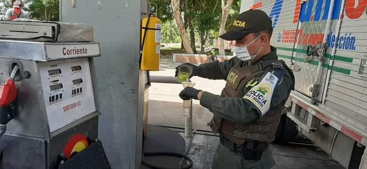 POLFA REALIZA OPERATIVOS DE CONTROL EN LAS ESTACIONES DE SERVICIO